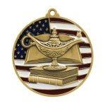 Book & Lamp Medal PM Series Medal Awards