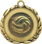 Volleyball Medal QCM Medal Series