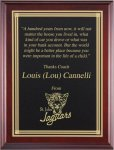 Genuine Cherry Plaques with Single Plate Recognition Plaques