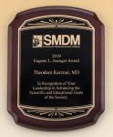 Rosewood Plaque Recognition Plaques