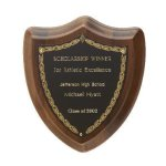 Laurel Shield Plaque Recognition Plaques