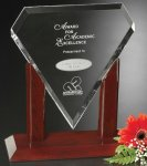 Marquise Award Rosewood Glass Awards