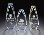 Acrylic Red Obelisk Award Sales Awards
