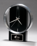 Black and Silver Modern Design Clock Sales Awards
