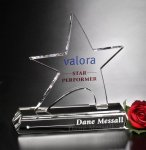 Prestige Star Crystal Award Sales Awards