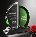 Greenley Crystal Award Sales Awards