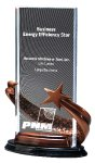 Acrylic Resin Star Award Sales Awards