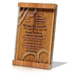 Natural Brown Bamboo / Jade Glass Sales Awards
