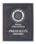 Black Marble Border Clear Acrylic Award Plaque Sales Awards