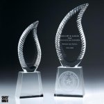 Harmony Flame Crystal Award Sales Awards