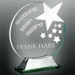 Halo Star Glass Award Sales Awards