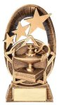 Radiant Series Lamp Of Knowledge Resin Trophy  Scholastic Trophy Awards