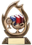Flame Series Knowledge Scholastic Trophy Awards