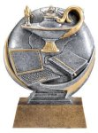 Motion X Lamp Of Knowledge 3-D Scholastic Trophy Awards