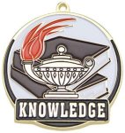 Knowledge Medal Scholastic Trophy Awards