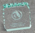 Paper Weight - Cracked Ice Secretary Gift Awards