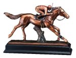 Jockey Signature Black Resin Trophy Awards