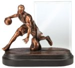 Basketball, Male Championship Award Signature Black Resin Trophy Awards