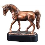 Tennessee Walker Signature Black Resin Trophy Awards