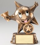 My Lil' Star Soccer Resin Trophy  Soccer Trophy Awards