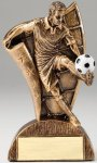 USA Flag Series Soccer - Male Resin Trophy  Soccer Trophy Awards