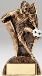 USA Flag Series Soocer - Female Resin Trophy  Soccer Trophy Awards