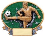 Motion X Oval  Soccer Soccer Trophy Awards