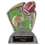 Large Spin Award Football Spin Resin Trophy Awards