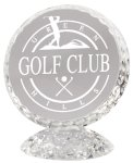 Golf Crystal Award Sport Crystal Awards