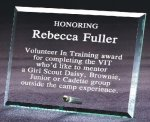 Beveled Glass Award Square Rectangle Awards