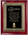 Plaque Board with Heavy Laquer Finish Square Rectangle Awards