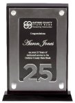 25 Year Acrylic Square Rectangle Awards