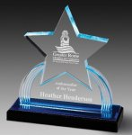 Impress Reflection Acrylic Award Star Awards