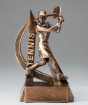 Tennis Resin Trophy, Female Tennis Trophy Awards
