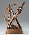 Swimming Resin Trophy, Female Ultra Action Resin Trophy Awards