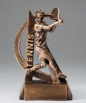 Tennis Resin Trophy, Male Ultra Action Resin Trophy Awards