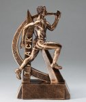 Track Resin Trophy, Male Ultra Action Resin Trophy Awards