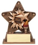 Star Burst Resin Victory Victory Trophy Awards