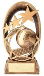 Radiant Series Volleyball Resin Trophy  Volleyball Trophy Awards