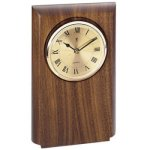 Walnut Clock Mount, Rounded Wall Clocks