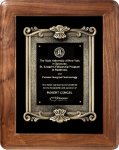 Genuine Walnut Frame Walnut Plaques