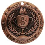 3rd Place Medallion World Class Medal Series