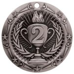 2nd Place Medallion World Class Medal Series