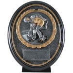 Wrestling Resin Oval Wrestling Trophy Awards